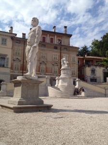The Plaza area of Udine