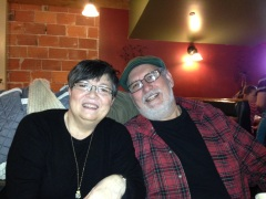 My sister-in-law Patti and brother George